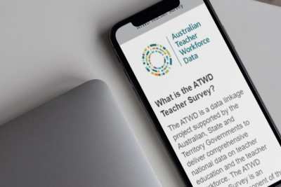 ATWD 2019 page on mobile phone