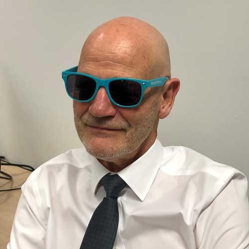 photograph of person wearing sunnies